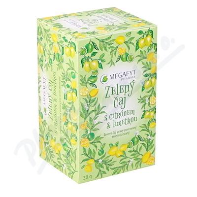 Zobrazit detail - Megafyt Zelený čaj s citrónem a limetkou 20x1. 5g