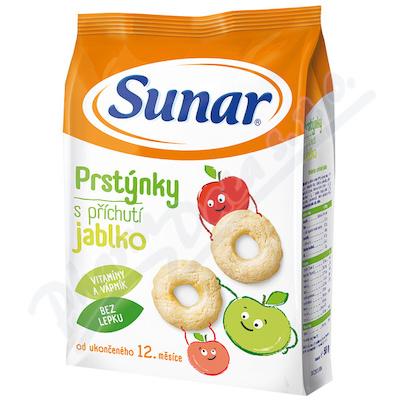 Zobrazit detail - Sunárek -Sunarka dětský snack jablk.  prstýnky 50g