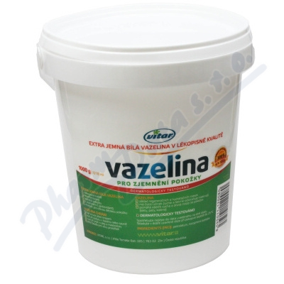 Zobrazit detail - Vitar Vazelina extra jemná bílá 1000g