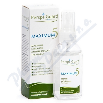 Zobrazit detail - Perspi-Guard Antiperspirant Maximum 5 50ml
