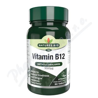 Zobrazit detail - Vitamín B12 (1000mcg) tbl. 90 - sublingvální