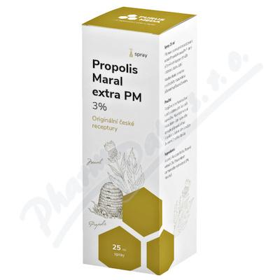 Zobrazit detail - PM Propolis Maral extra 3% ústní spray 25ml