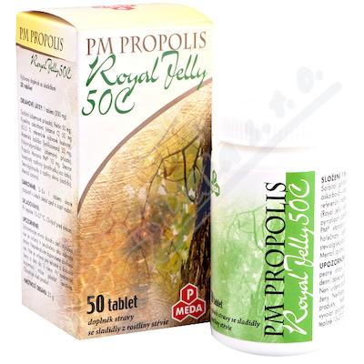 Zobrazit detail - PM Propolis 50C+Royal jelly tbl. 50x500mg