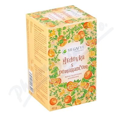 Zobrazit detail - Megafyt Ovocný Meduňka s pomerančem 20x2g