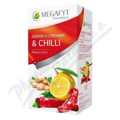 Zobrazit detail - Megafyt Ovocný Zázvor s citrónem a chilli 20x2g