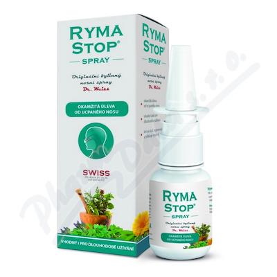 Zobrazit detail - RymaSTOP Dr. Weiss bylinný nosní spray 30ml