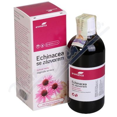 Zobrazit detail - AROMATICA Echinacea se zázvorem bylin. kapky 100ml
