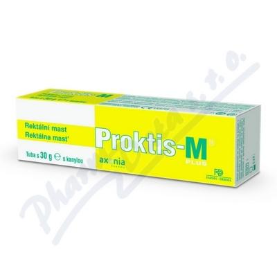 Zobrazit detail - PROKTIS-M PLUS rektální mast 30g