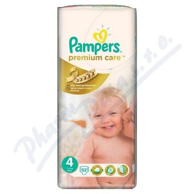 Zobrazit detail - PAMPERS Premium Care 4 Maxi 52ks