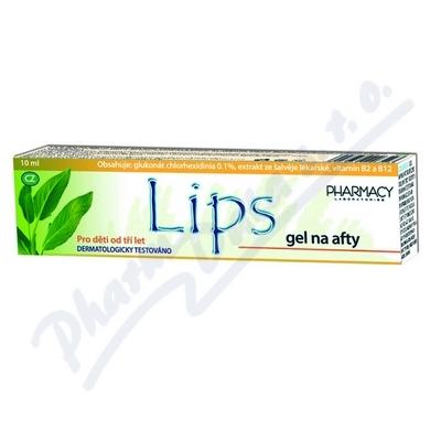 Zobrazit detail - LIPS gel na afty 10ml