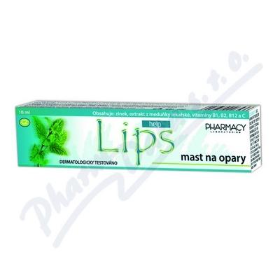 Zobrazit detail - LIPS HELP mast na opary 10ml