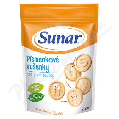 Sunárek - Sunarka dětské sušenky písmenkové 150g