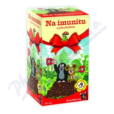 Zobrazit detail - Krtečkův čaj Na imunitu s jahodníkem 20x2g