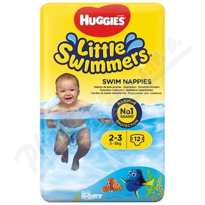 HUGGIES Little Swimmers 2-3 - 3-8kg 12ks
