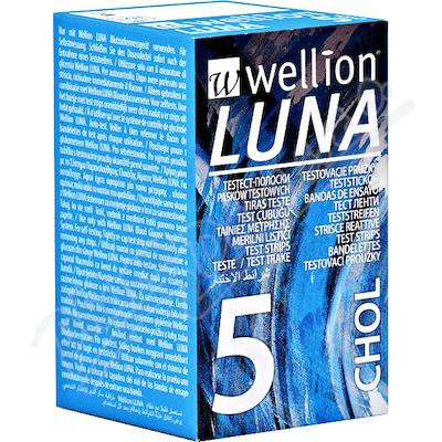 Zobrazit detail - Testovací proužky Luna cholesterol 5ks