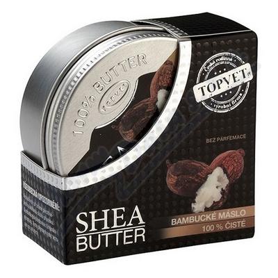 Zobrazit detail - TOPVET Bambucké máslo 100% čisté 100ml