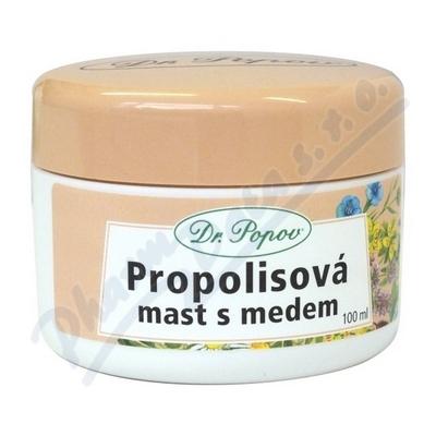 Propolisov� mast s medem 100ml Dr.Popov