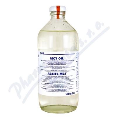 Zobrazit detail - MCT-Oil por. oil 1x500ml plast