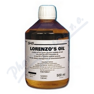Lorenzo - Oil por.oil 1x500ml plast