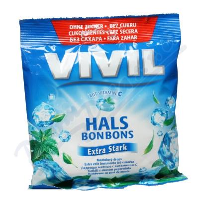 Zobrazit detail - Vivil Extra silný mentol + vit. C bez cukru 60g
