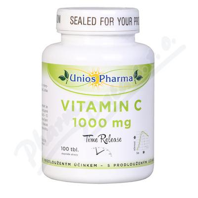 Zobrazit detail - Uniospharma Vitamin C 1000mg Time released tbl. 100