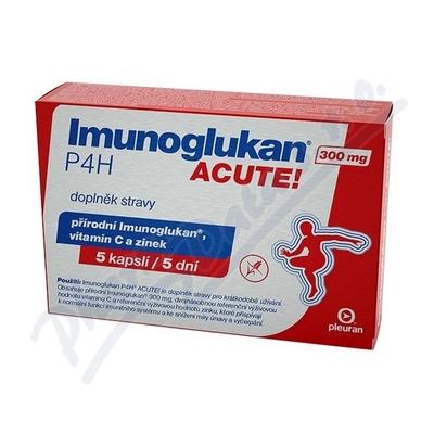Zobrazit detail - Imunoglukan P4H ACUTE! 5 kapslí