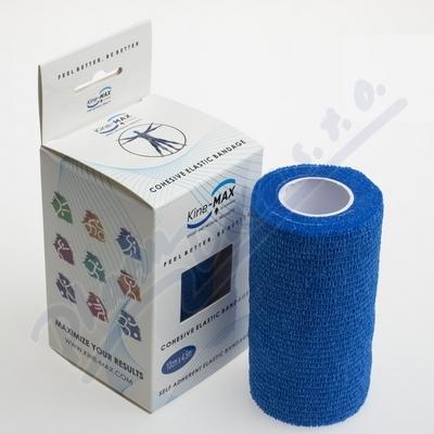 KineMAX Cohesive elast.samofix.10cmx4.5m modré