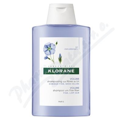 KLORANE Lin shamp 200ml-šampon pro jemné vlasy