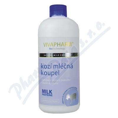 Zobrazit detail - Kozí mléčná koupel s kozím mlékem Vivapharm 400ml