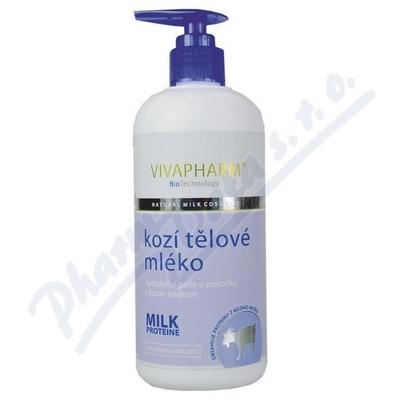 Zobrazit detail - Kozí tělové mléko s kozím mlékem Vivapharm 400ml