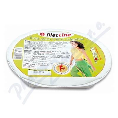 Zobrazit detail - DietLine Krůtí maso s jarní zeleninou 300g