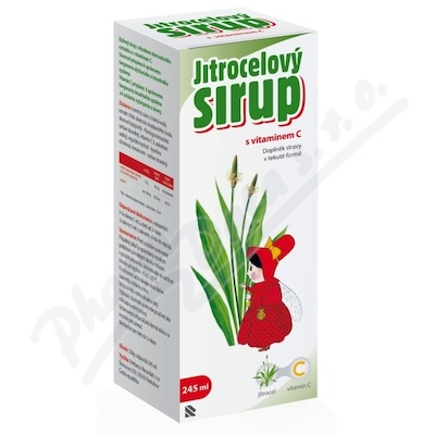 Zobrazit detail - Herbacos Jitrocelový sirup s vitaminem C 320g
