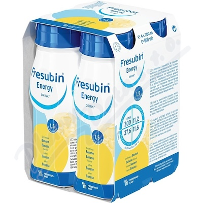 Fresubin Energy drink banán por.sol.4x200ml
