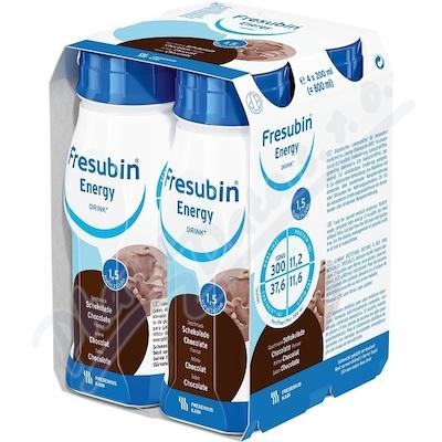 Zobrazit detail - Fresubin Energy drink čokoláda por. sol. 4x200ml
