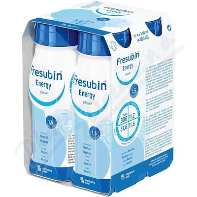 Zobrazit detail - Fresubin Energy drink neutral por. sol. 4x200ml