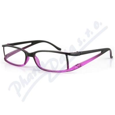Brýle čtecí American Way +2.50 fialové 6154