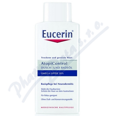 Zobrazit detail - EUCERIN AtopiControl sprch. olej suchá zarud.  400ml