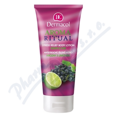 Dermacol Aroma Ritual těl.mléko hrozny+limeta200ml