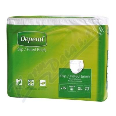 Zobrazit detail - Depend Slip Super inkont. kalhotky vel. XL 15ks