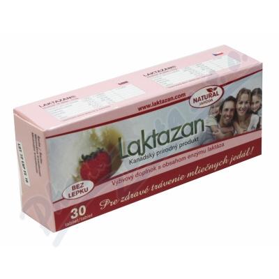 LAKTAZAN jahodový (3000 jedn.enzymu laktáza)tbl.30