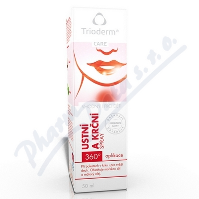 Trioderm Care �stn� a kr�n� sprej 50ml