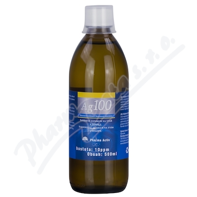 Koloidn� st��bro Ag100 10ppm 500ml