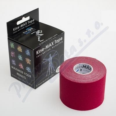 KineMAX Classic kinesiology tape červ. 5cmx5m