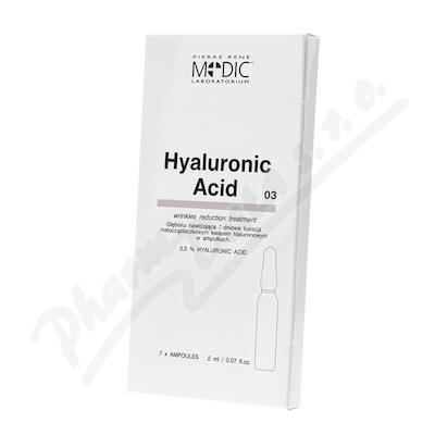 Zobrazit detail - Medic Kyselina hyaluronová v ampulích 7x2ml