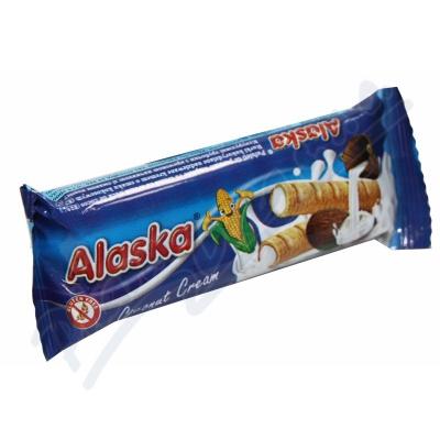 Zobrazit detail - Kukuřičné trubičky Alaska kokosové 18g
