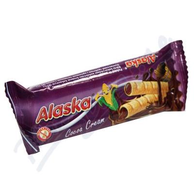 Zobrazit detail - Kukuřičné trubičky Alaska kakaové 18g