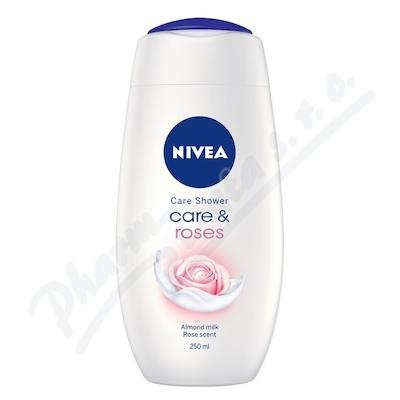 NIVEA Sprchový gel Care&Roses 250ml. č.80858