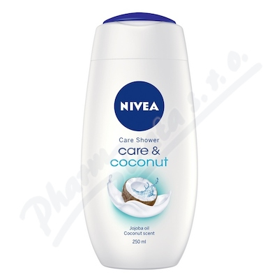 NIVEA Sprchový gel Care&Coconut 250ml. č.83606