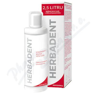 Zobrazit detail - HERBADENT bylinná ústní voda 250ml