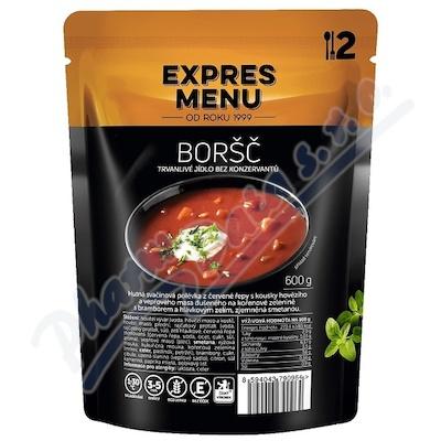 Zobrazit detail - EXPRES MENU Polévka Boršč 2 porce